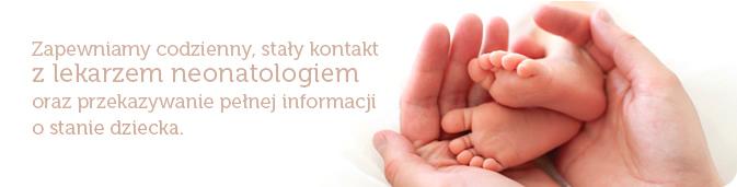Pierwsze dni noworodka wszpitalu Salve