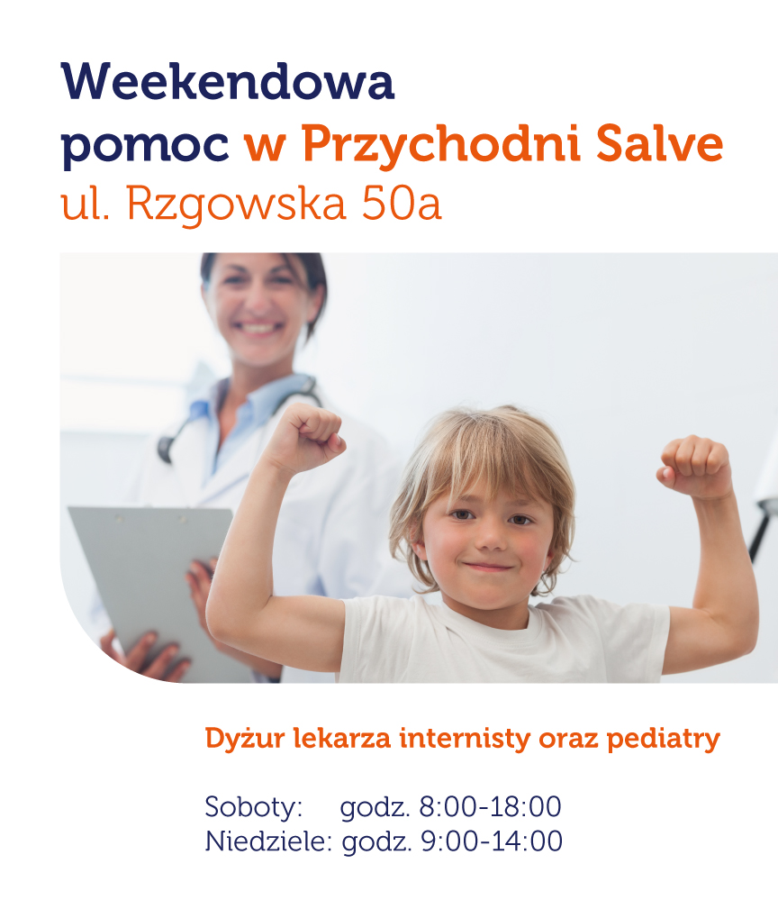weekendowa pomoc pediatry i internisty