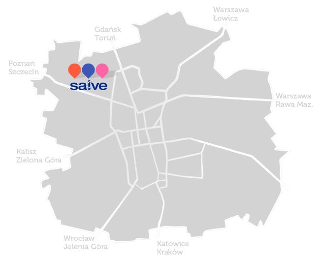 Salve szpital -mapa