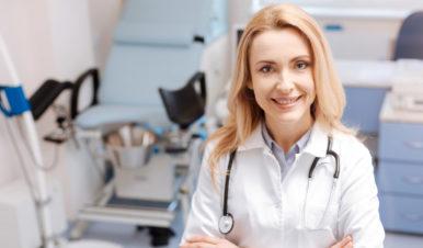 kobieta lekarz ginekolog
