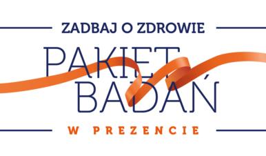 logotyp akcji Pakiet Badań w prezencie Salve